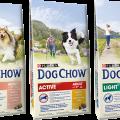 DOG CHOW speciális igények termékcsalád