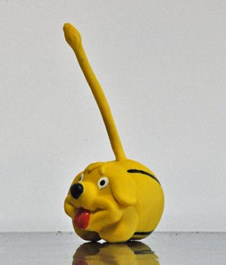 Gumikutyus, hosszó farkú, sípoló, sárga kutyajáték