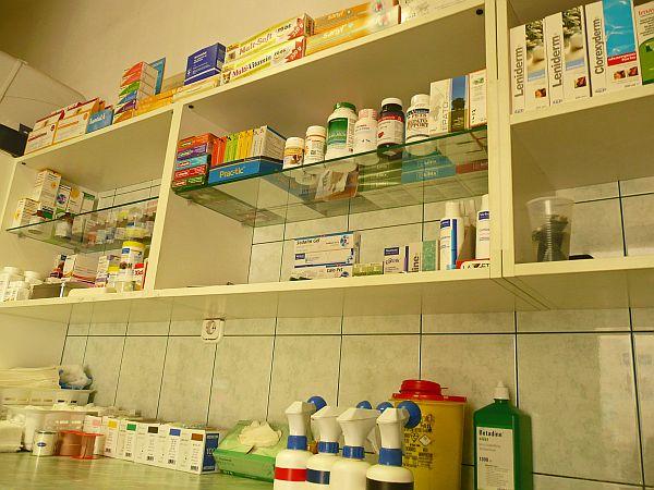Bogáncs Állatorvosi rendelő, gyógyszerek